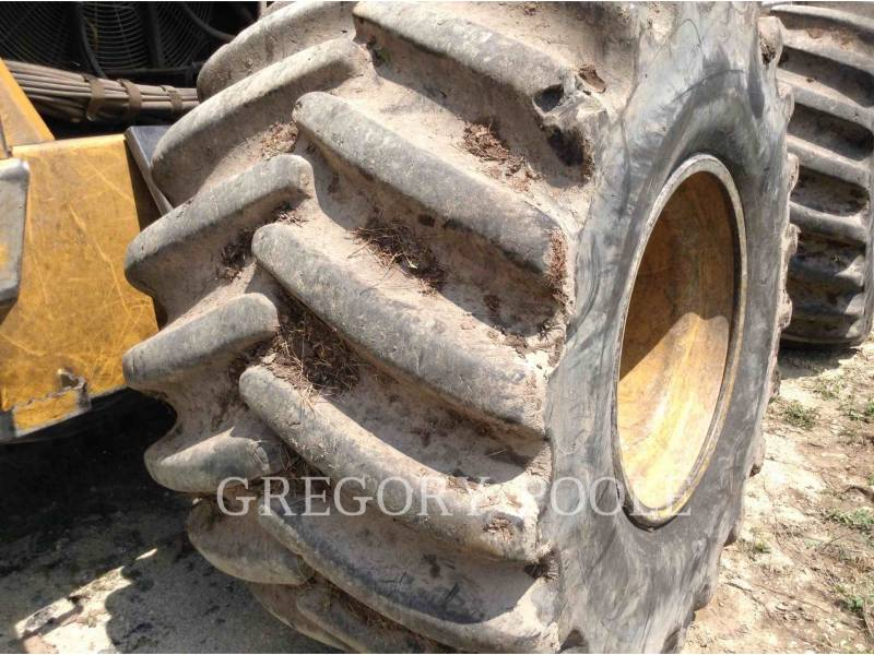 CATERPILLAR FORESTRY - FELLER BUNCHERS - WHEEL 573C equipment  photo 23