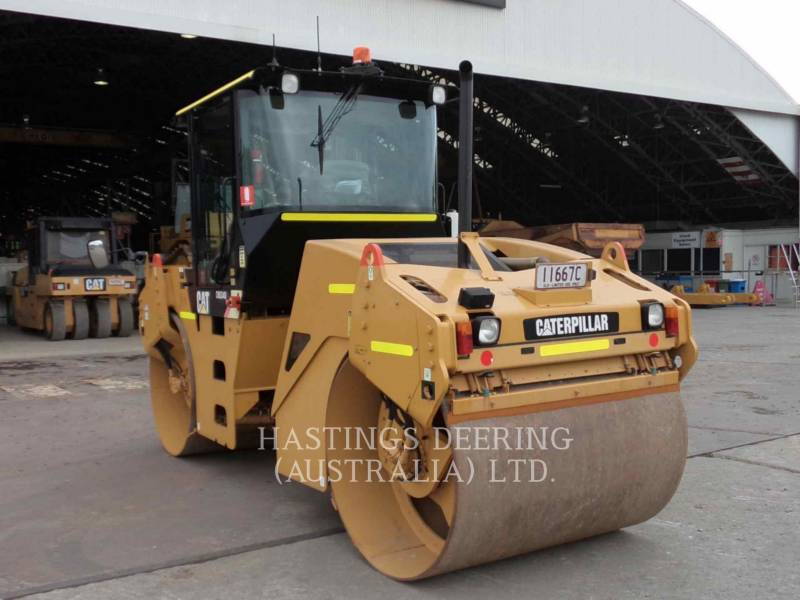 CATERPILLAR COMPACTEURS TANDEMS VIBRANTS CB-534D equipment  photo 6