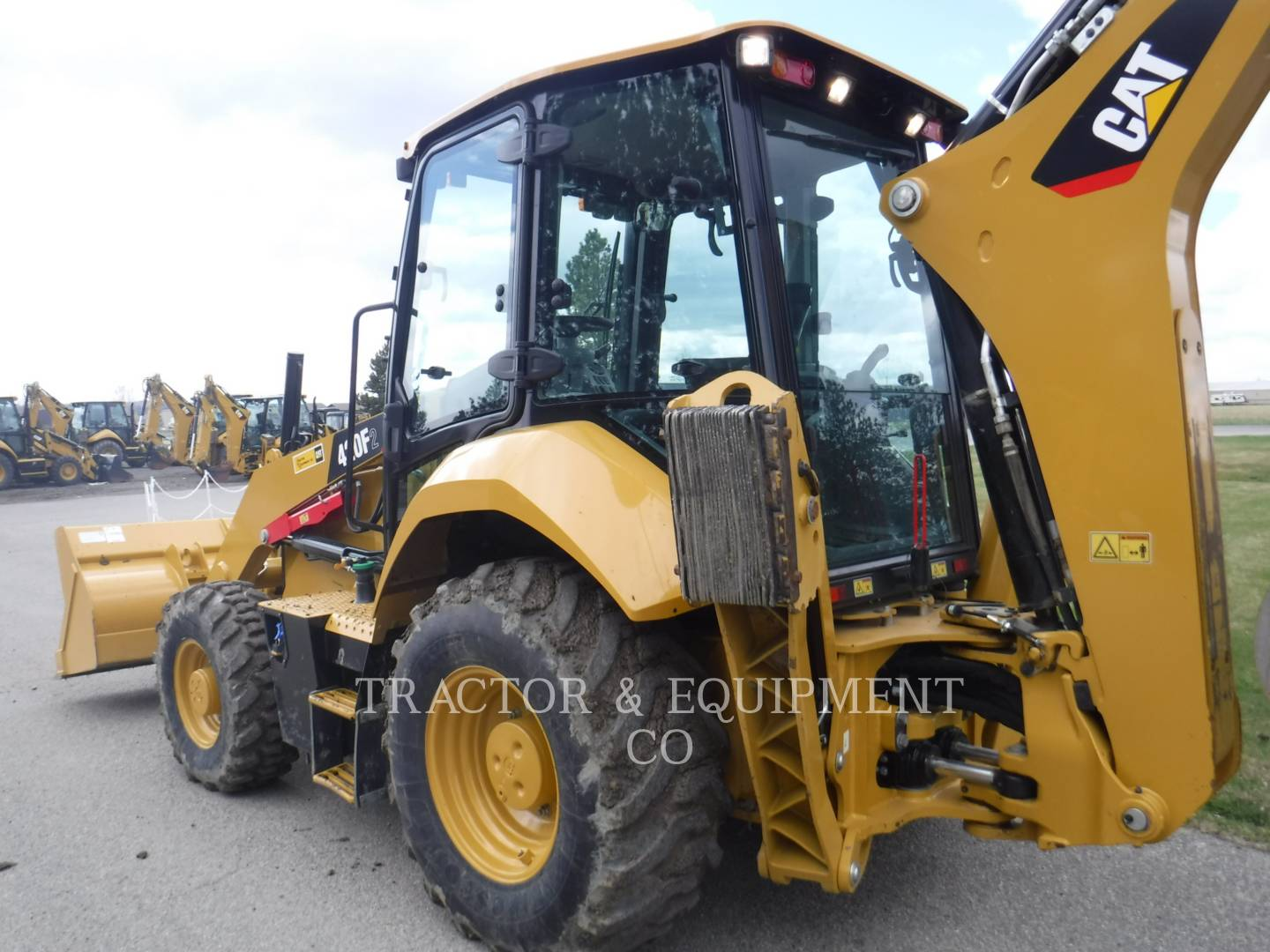 Detail photo of 2016 Caterpillar 420F II from Construction Equipment Guide
