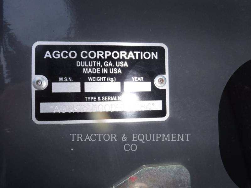 AGCO NARZ. ROB. - GŁOWICA KOMBAJNU 9250 equipment  photo 2