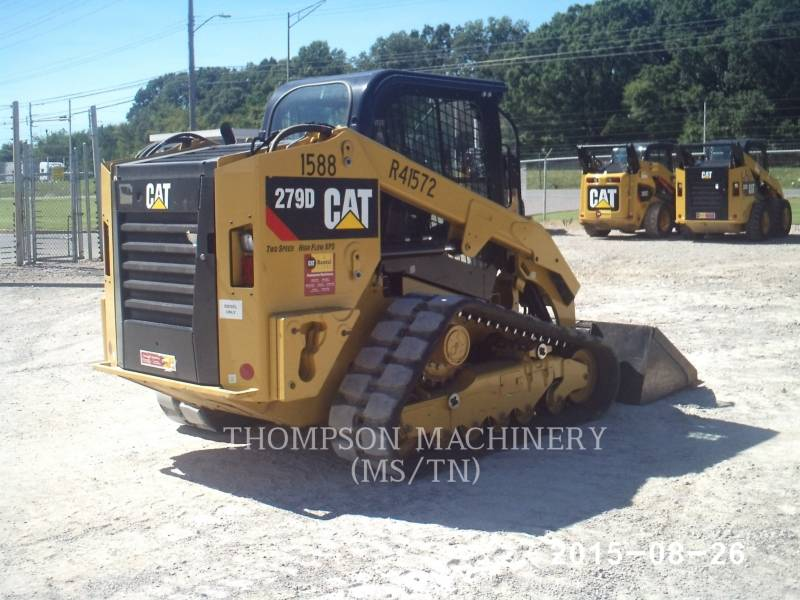CATERPILLAR MINICARREGADEIRAS 279DHF equipment  photo 2