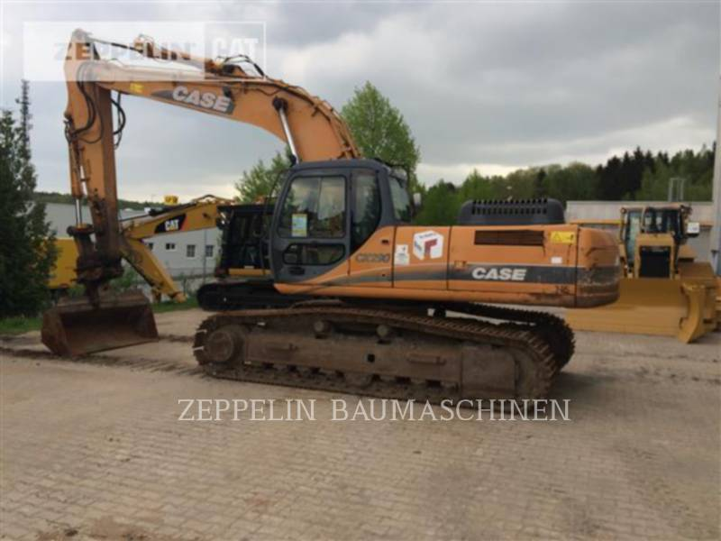 CASE PELLES SUR CHAINES CX290 equipment  photo 3