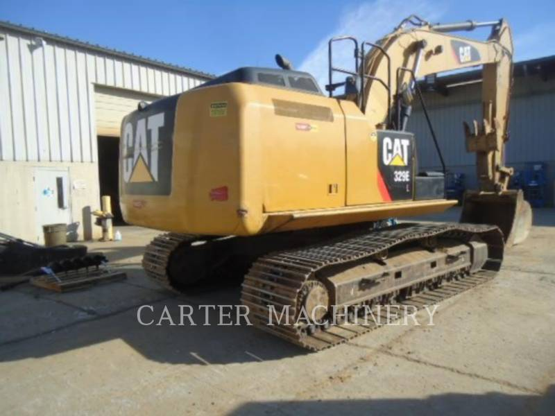 CATERPILLAR TRACK EXCAVATORS 329 E L equipment  photo 3