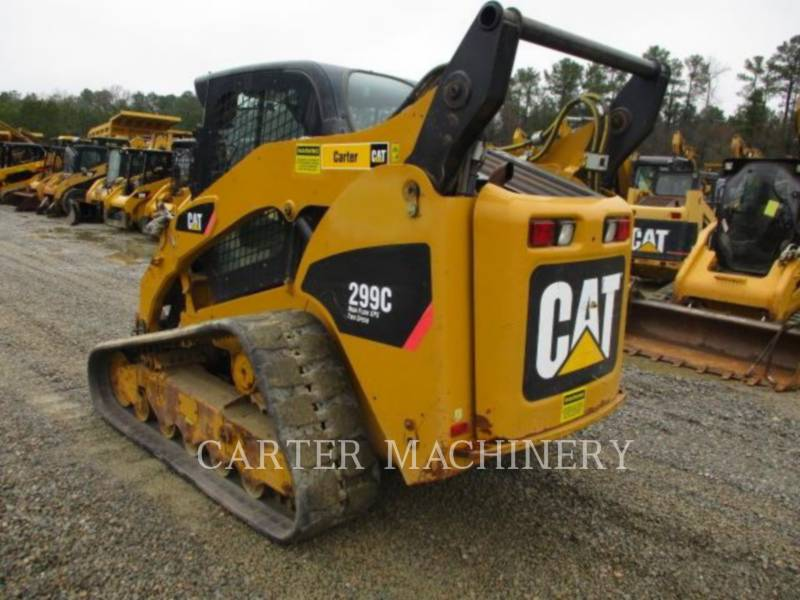 CATERPILLAR MINICARGADORAS 299C ACHF equipment  photo 3