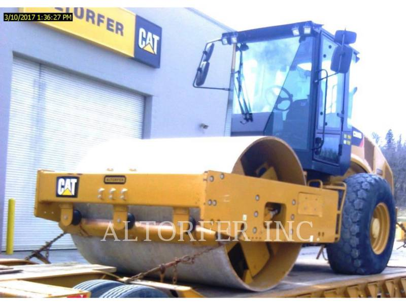 CATERPILLAR VIBRATORY SINGLE DRUM SMOOTH CS56B equipment  photo 1