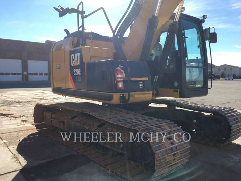 CATERPILLAR PELLES SUR CHAINES 320E LRRTH equipment  photo 6