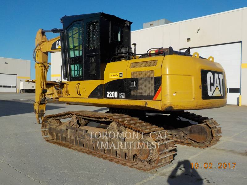 CATERPILLAR FORSTWIRTSCHAFT - HYDRAULIKBAGGER 320DFMHW equipment  photo 2