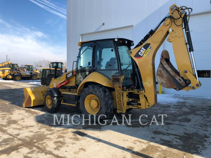 CATERPILLAR BACKHOE LOADERS 420F AR equipment  photo 3