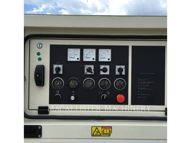 CATERPILLAR PORTABLE GENERATOR SETS XQ 30 equipment  photo 8