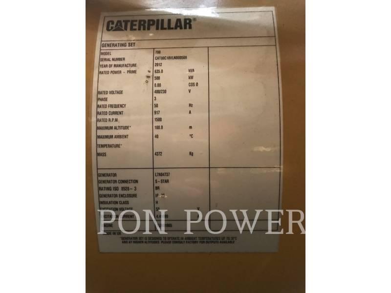 CATERPILLAR 固定式発電装置 C18 DI-TA equipment  photo 5