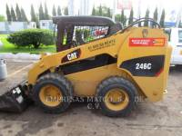 Equipment photo CATERPILLAR 246C PALE COMPATTE SKID STEER 1
