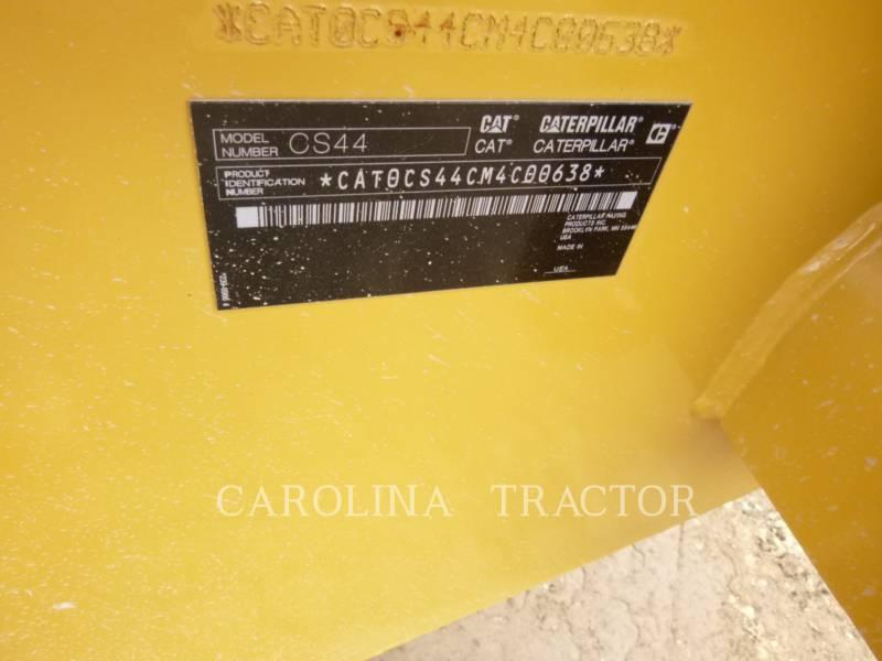 CATERPILLAR PLANO DO TAMBOR ÚNICO VIBRATÓRIO CS44 equipment  photo 8