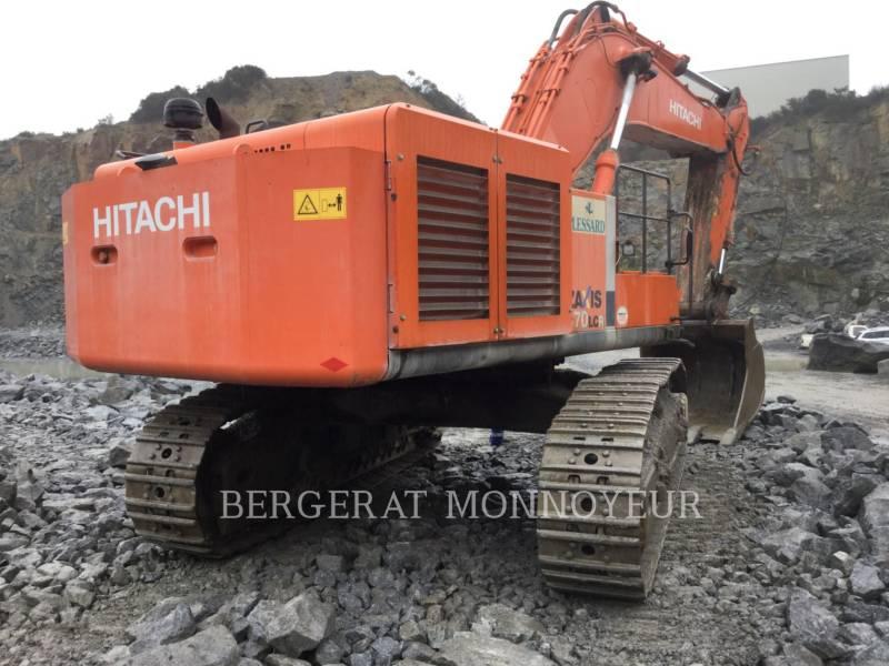 HITACHI KOPARKI GĄSIENICOWE ZX670 equipment  photo 7