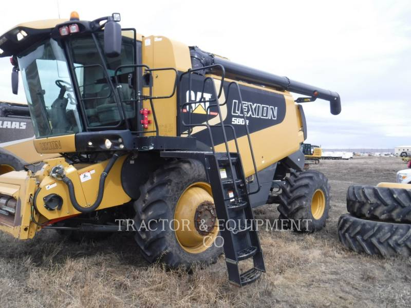 LEXION COMBINE COMBINES LX580R equipment  photo 1