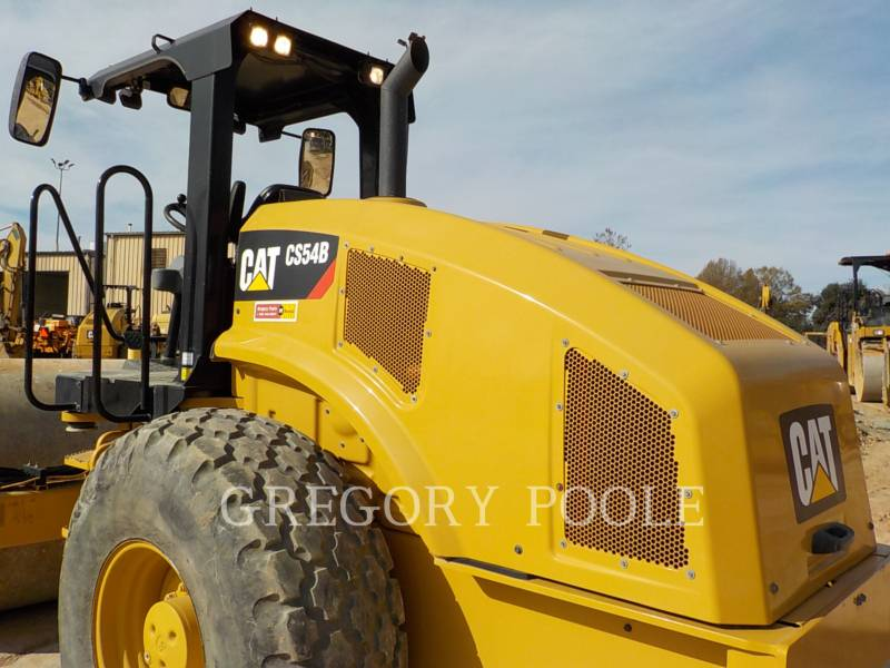 CATERPILLAR VIBRATORY SINGLE DRUM SMOOTH CS-54B equipment  photo 10