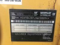 CATERPILLAR BAGGERLADER 420F2 4WDE equipment  photo 10