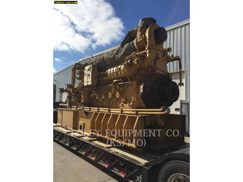 CATERPILLAR FISSO - GAS NATURALE G3608IN equipment  photo 2