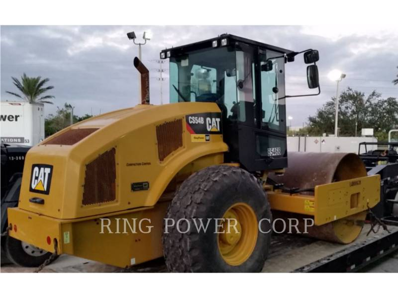 CATERPILLAR COMPACTEURS TANDEMS VIBRANTS CS54BCAB equipment  photo 2