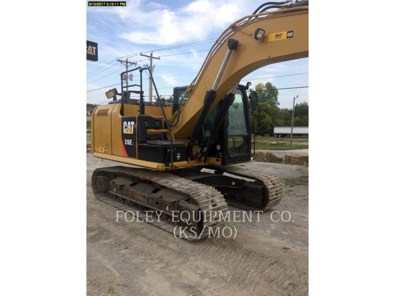 CATERPILLAR EXCAVADORAS DE CADENAS 316EL9 equipment  photo 4