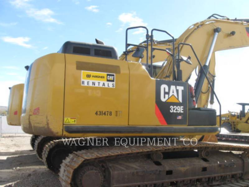 CATERPILLAR EXCAVADORAS DE CADENAS 329EL THB equipment  photo 6
