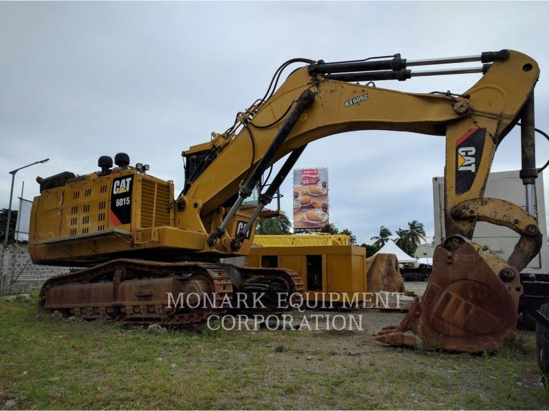 CATERPILLAR EXCAVADORAS DE CADENAS 6015 equipment  photo 1