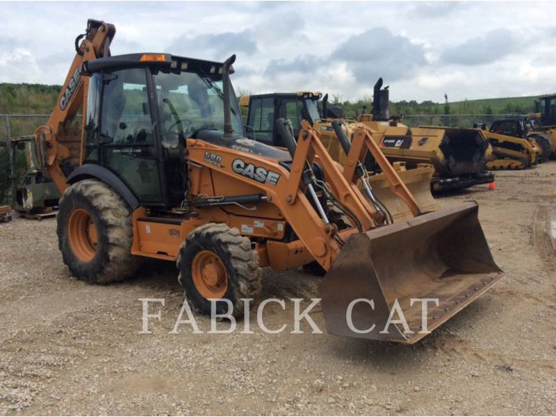 CASE/NEW HOLLAND BACKHOE LOADERS 580SUPERN equipment  photo 1