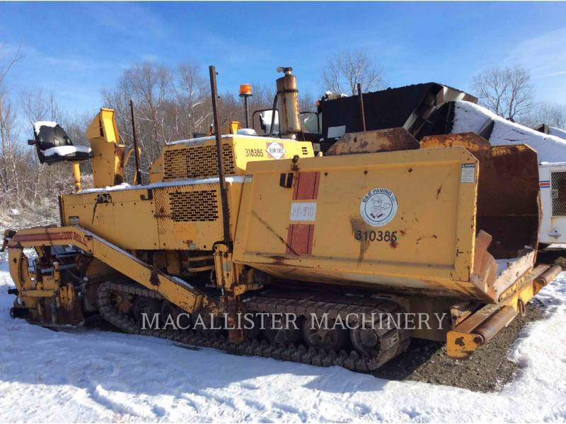 BLAW KNOX/INGERSOLL-RAND BETONIERE DE ASFALT PF-510 equipment  photo 1