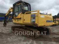 Equipment photo KOMATSU PC200-7 FORSTMASCHINE 1