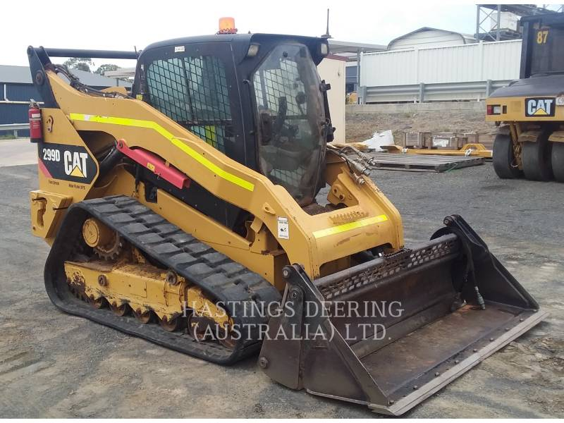 CATERPILLAR CHARGEURS TOUT TERRAIN 299D equipment  photo 2