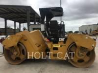 Equipment photo CATERPILLAR CB54 XW TANDEMOWY WALEC WIBRACYJNY DO ASFALTU (STAL-STAL) 1