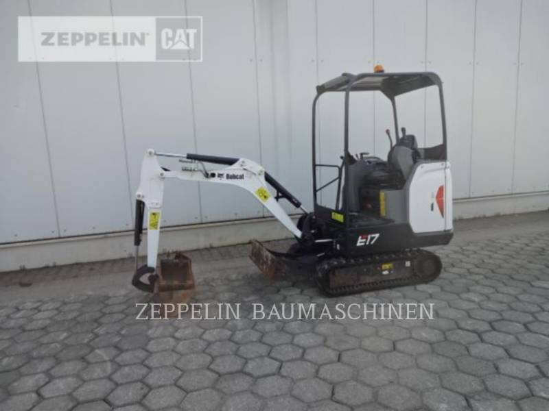 BOBCAT KETTEN-HYDRAULIKBAGGER E17 equipment  photo 2