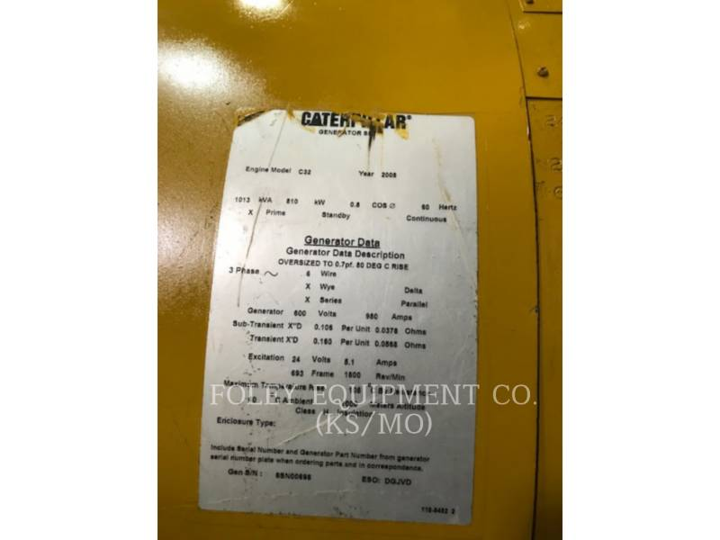 CATERPILLAR STATIONARY - DIESEL C32EP equipment  photo 6