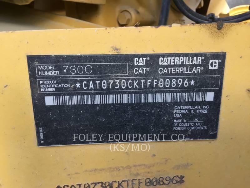 CATERPILLAR アーティキュレートトラック 730C equipment  photo 6