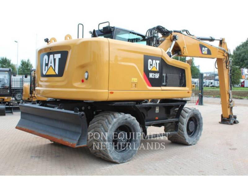 CATERPILLAR KOPARKI KOŁOWE M 316 F equipment  photo 4