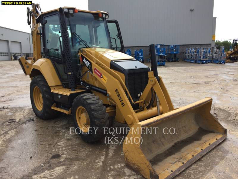 CATERPILLAR BACKHOE LOADERS 416F2 equipment  photo 2