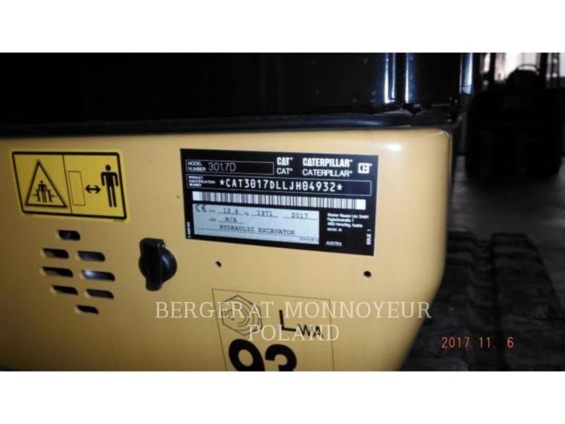 CATERPILLAR TRACK EXCAVATORS 301.7 D equipment  photo 6