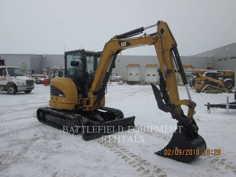 CATERPILLAR PELLES SUR CHAINES 305D equipment  photo 1