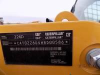 CATERPILLAR SKID STEER LOADERS 226D equipment  photo 16