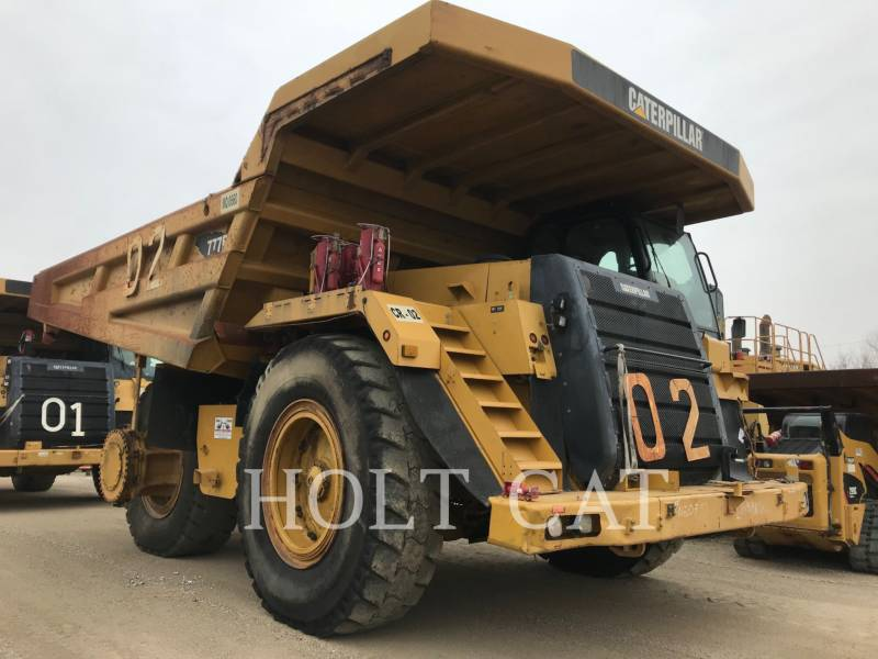 CATERPILLAR MINING OFF HIGHWAY TRUCK 777F equipment  photo 2