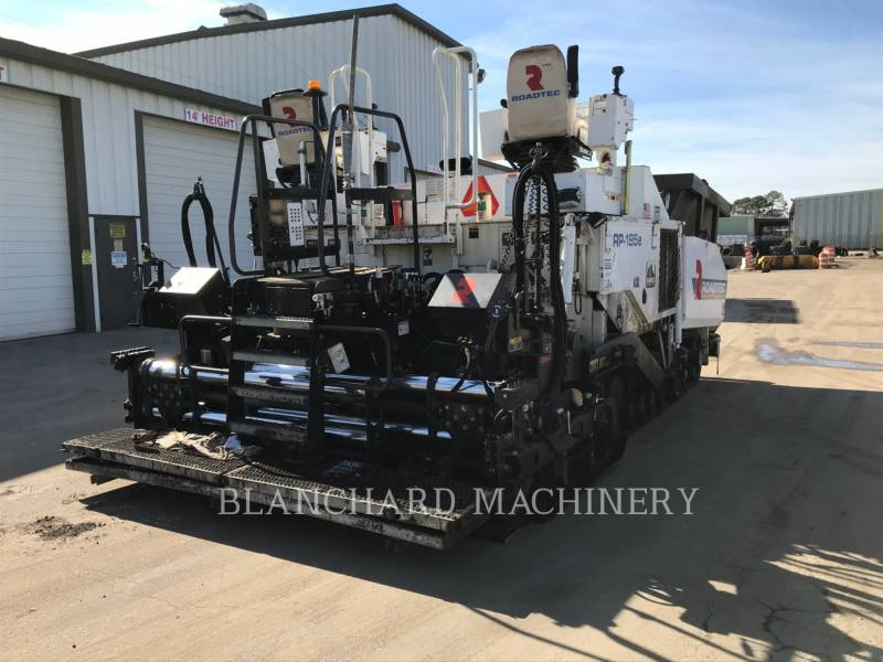 ROADTEC ASPHALT PAVERS RP - 195 E equipment  photo 2