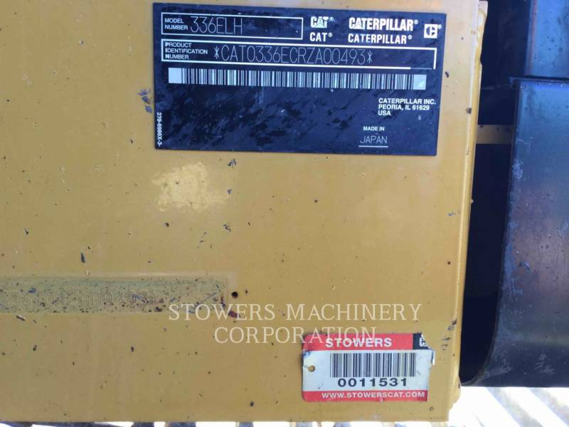 CATERPILLAR EXCAVADORAS DE CADENAS 336ELH equipment  photo 19