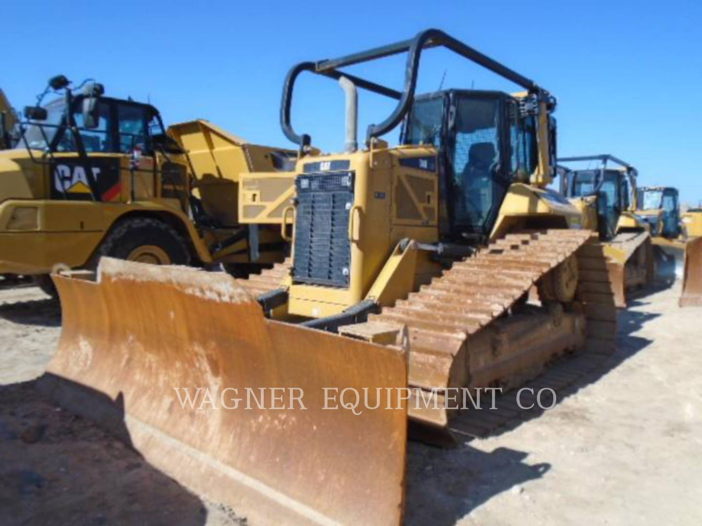 Detail photo of 2012 Caterpillar D6N from Construction Equipment Guide
