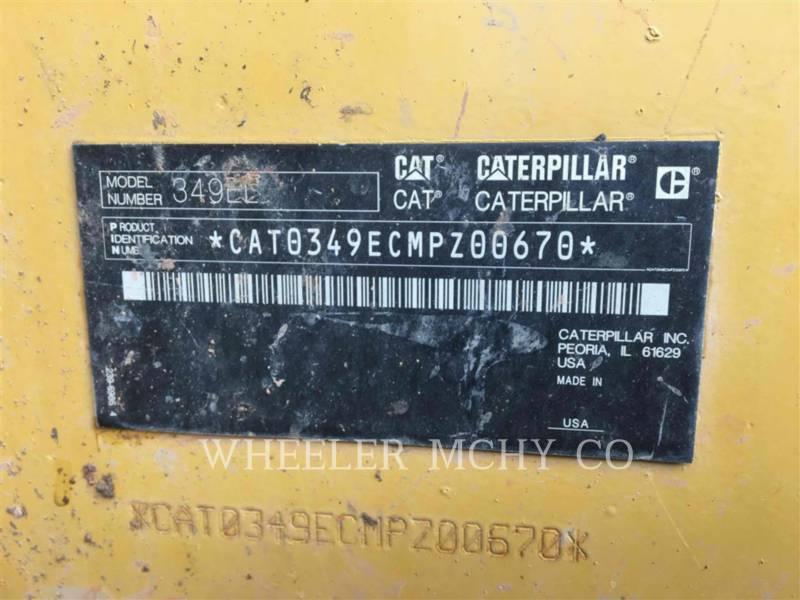 CATERPILLAR TRACK EXCAVATORS 349E L THM equipment  photo 7