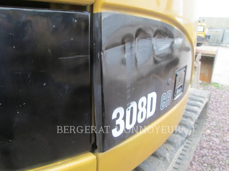 CATERPILLAR TRACK EXCAVATORS 308D equipment  photo 6