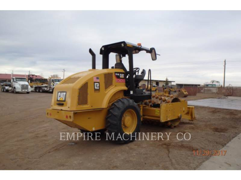 CATERPILLAR EINZELVIBRATIONSWALZE, BANDAGE CP44B equipment  photo 2