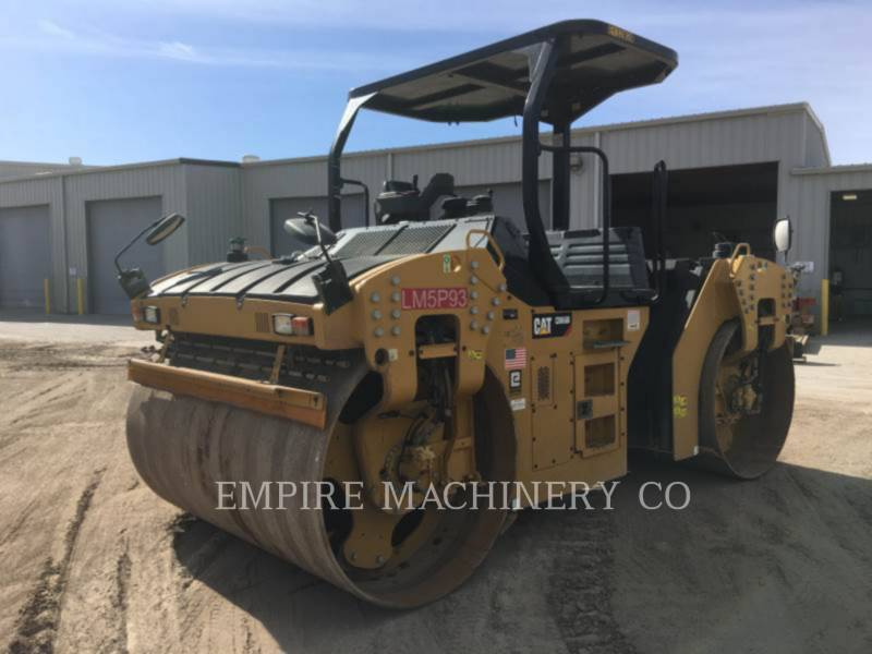 CATERPILLAR ROLO COMPACTADOR DE ASFALTO DUPLO TANDEM CB66B equipment  photo 4