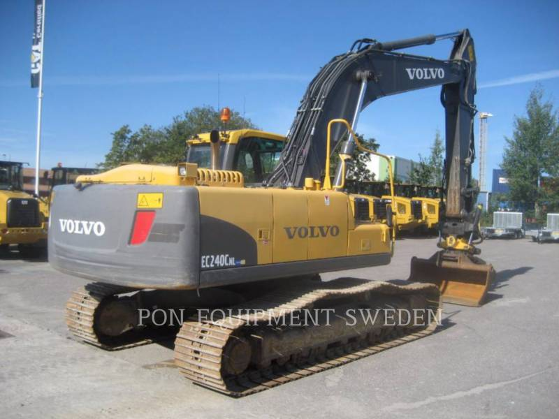 VOLVO CONSTRUCTION EQUIP BRASIL PELLES SUR CHAINES EC240 CNL equipment  photo 3