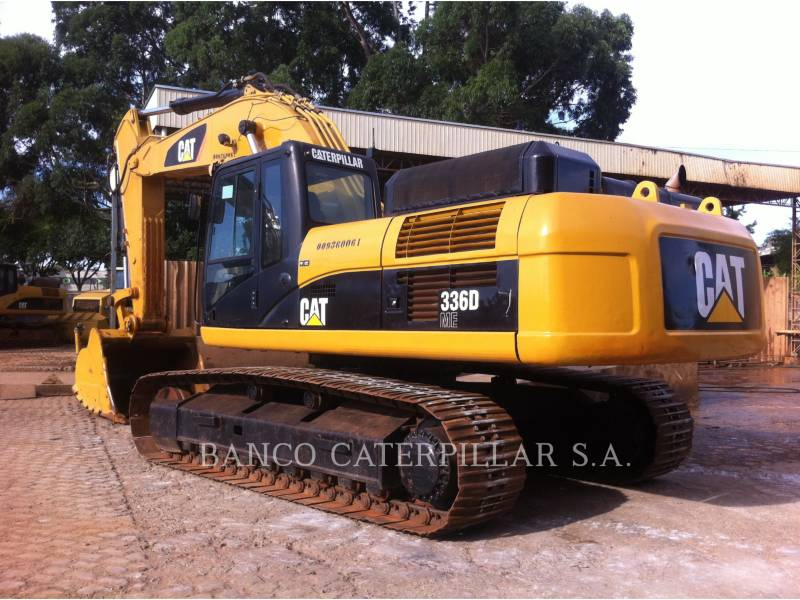CATERPILLAR KETTEN-HYDRAULIKBAGGER 336DL equipment  photo 6