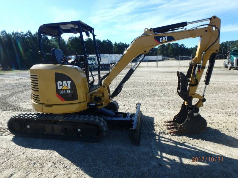 CATERPILLAR TRACK EXCAVATORS 303.5E2CR equipment  photo 4