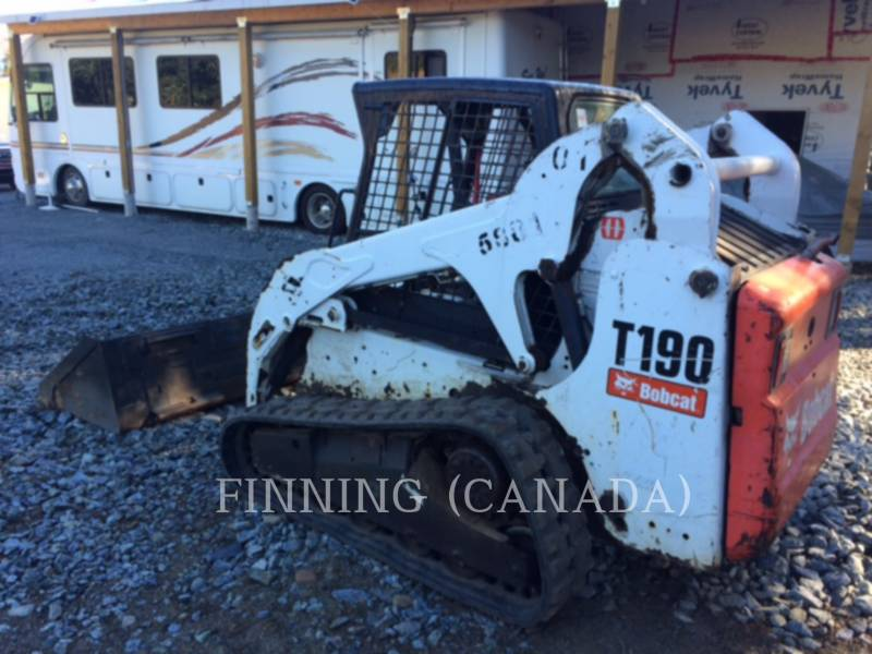 BOBCAT CHARGEURS TOUT TERRAIN T190 equipment  photo 4